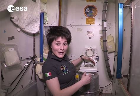 how to use the bathroom in space how to use the international space station s bathroom geekologie