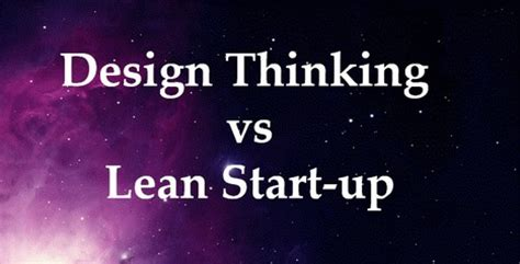 design thinking vs lean startup the new era of business begins crowdfunding b