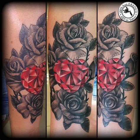 crystal rose tattoo www pixshark images galleries