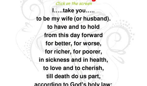 wedding vows traditional obey   WeddingInclude   Wedding Ideas Inspiration Blog