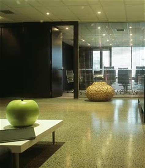Flooring: Polished concrete floors installed   Compare