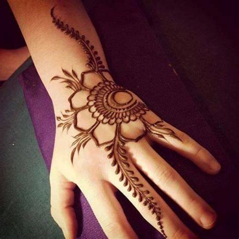 flower design mehndi beautiful simple flower henna designs for eid henna