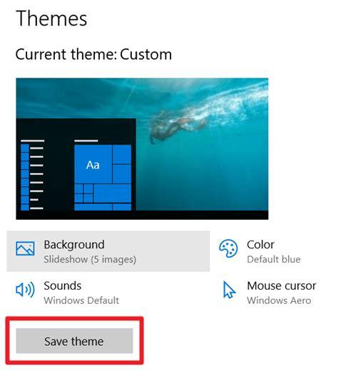 theme windows 10 custom create your own windows 10 custom themes make tech easier