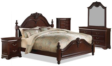 7 piece queen bedroom set westchester 7 piece queen bedroom set the brick