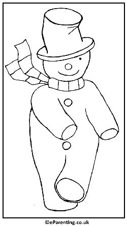 dancing snowman coloring page christmas colouring pages free printable coloring pictures