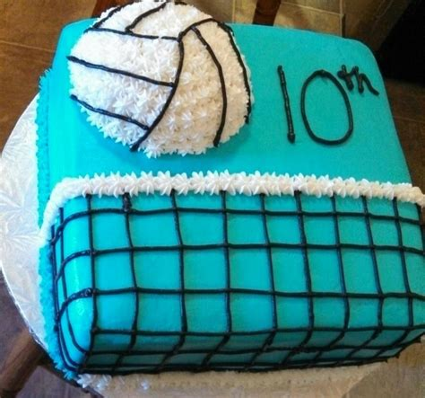 Volleyball Cake Cake  Ee  Ideas Ee   And Designs