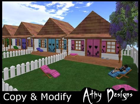 dog house game second life marketplace paw print pet houses dog house cat house kids play house