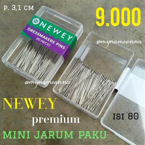 Jarum Paku No 1 jual mini jarum pentul paku premium newey isi 80 mynameanna store