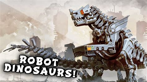 Robo Dinosaur minecraft mods laser creepers robot dinosaurs ridable