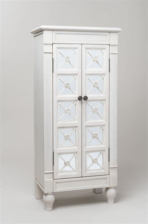 white mirrored jewelry armoire furniture mirror jewellery armoire and white jewelry