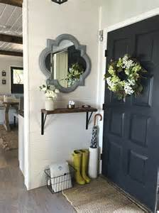 small foyer entryway storage solutions