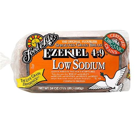 food for life ezekiel low sodium sprouted wheat bread