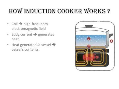 induction heater how does it work how induction cooker works