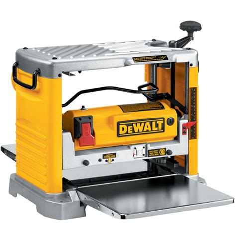 dewalt bench planer dw734 12 1 2 quot thickness planer with three knife cutter