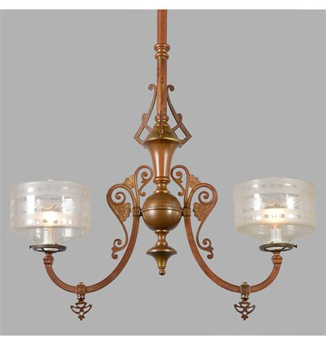 Gas Chandelier Simply Exceptional Eastlake Gas Chandelier C1877 Rejuvenation