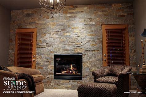 ledgestone fireplace copper ledgestone fireplace b veneers
