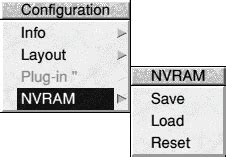 nvram reset windows keyboard risc os 6 user documentation the configuration system