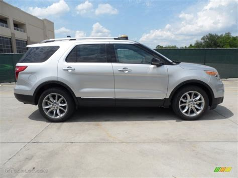 Ford Explorer Xlt 2013 by Ingot Silver Metallic 2013 Ford Explorer Xlt Exterior