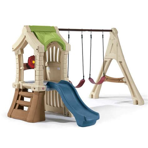 step 2 swing step2 play up gym sey swing set reviews wayfair