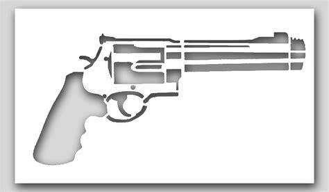 printable gun stencils revolver gun stencil sp stencils