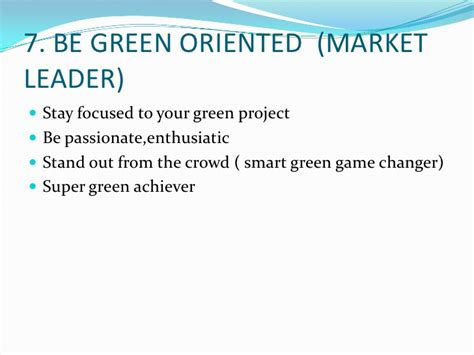 7 Tips On Going Green And Staying Green by 10 Smart Green Thoughts Tips For Smart Green Changers