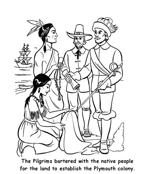 Colonies Colouring Pages Colonial America Coloring Pages