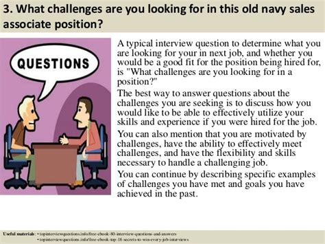 top 10 navy sales associate questions and
