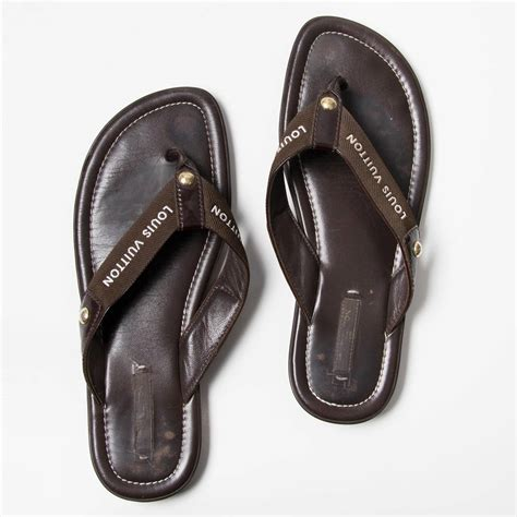louis vuitton sandals louis vuitton brown sandals at 1stdibs