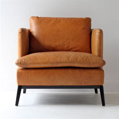 classic leather armchair gorgeous leather armchair in a modern but classic look love this piece decor