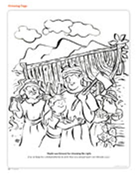 lds coloring pages nephi builds a ship coloring page friend
