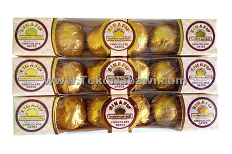 Coklat Kerikil Arab 250gr coklat kurma bin afif isi 6 oleh oleh haji