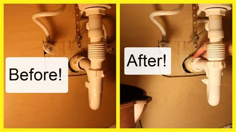 how to fix a leaky sink pipe replace a leaking sink drain pipe can we do this