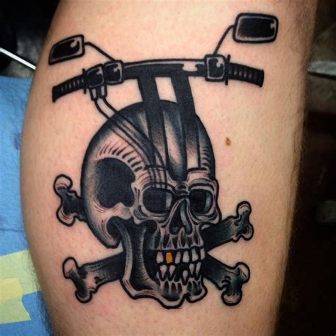 motorcycle tattoos 85 best biker designs meanings for