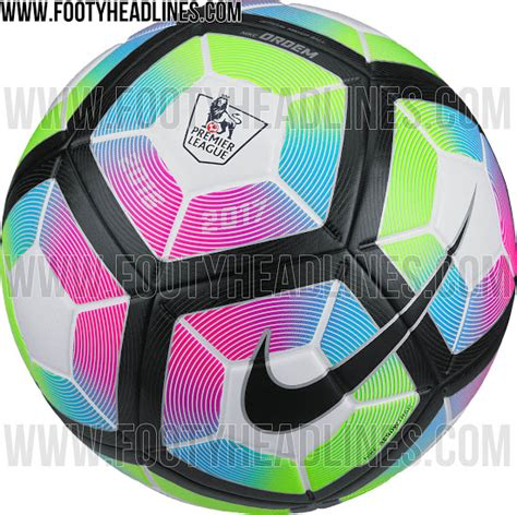 epl ball leaked pictures of the new premier league ball for 2016 17