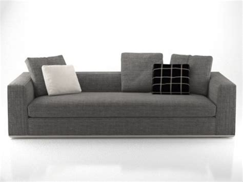 powell sofa powell sofas 3d model minotti