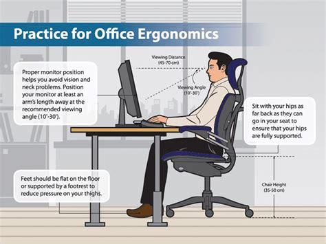 Office Ergonomics by Economical Tips To Enhance Office Ergonomics Arwsome