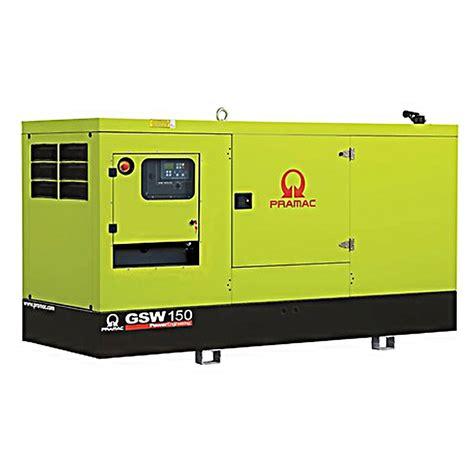 pramac gsw150p diesel generator perkins engine pramac