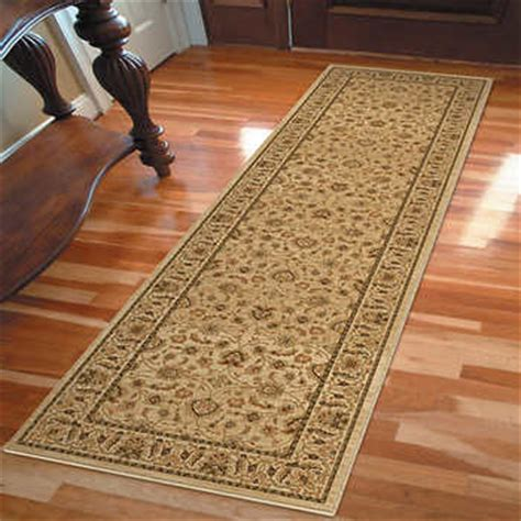 costco rugs and runners orian rugs parvana bisque runner