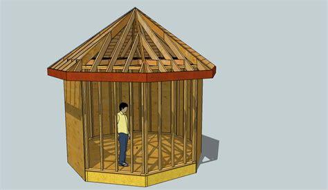 exploring octagonal roof framing  sketchup fine