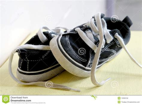 A Pair Of Childrens a pair of children s shoes stock photography image 13399132