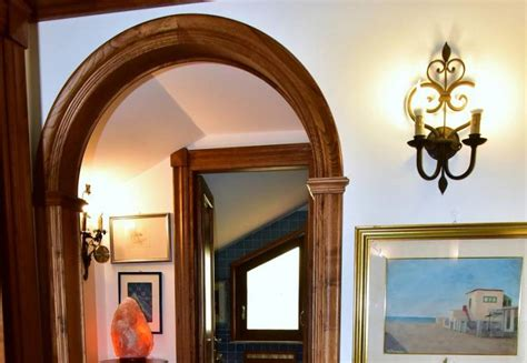 come rivestire un arco interno arco in legno per interni