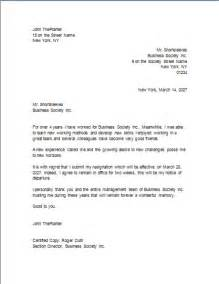 Letter Of Resignation Word by Letter Of Resignation Completed Resignation Letter