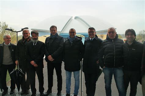dell adriatic inaugurata a pesaro la nuova copertura dell adriatic arena