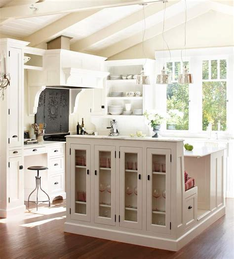 Kitchen Islands With Seating And Storage Multi Functional Kitchen Island Traditional Kitchen Bhg