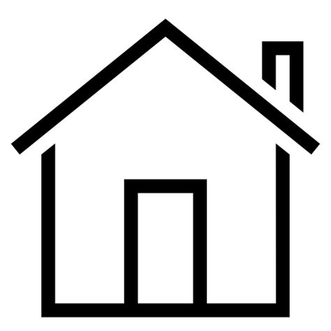 house building property stroke estate real home icon