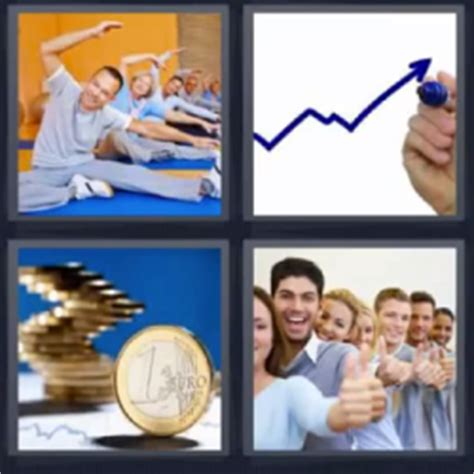 imagenes palabra ok 4 fotos 1 palabra ejercicio monedas fila de gente