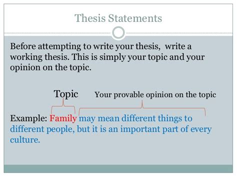 can a thesis be a question Most effective thesis statements often answer these three questions: a question is a great lead in to a thesis, but it can't be the thesis.