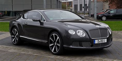 bentley black and file bentley continental gt ii frontansicht 3 5