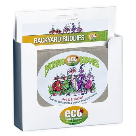 backyard buddies eco organic backyard buddies bed and breakfast seed mix