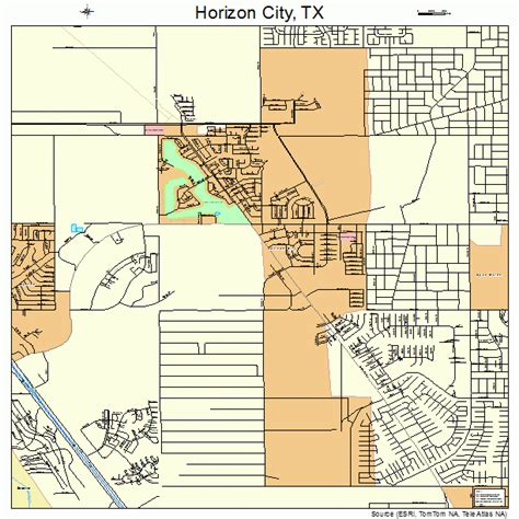 city texas map horizon city texas map 4834832